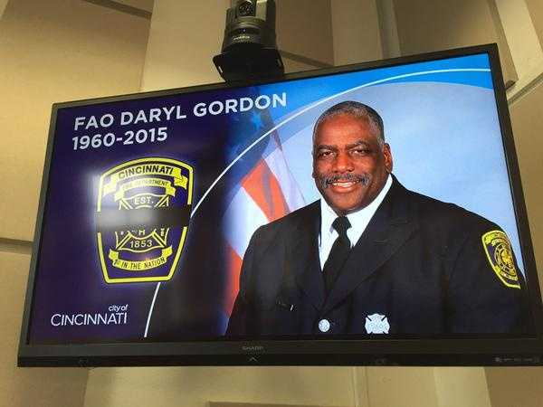 "6:26 a.m.: ""Mayday, mayday, mayday! Firefighter down! He went down the shaft -- fourth floor. He went down the shaft on the fourth floor."" Fire apparatus operator Daryl Gordon, 54, is reported to have fallen down an elevator shaft while searching for victims on the fourth floor of the building."