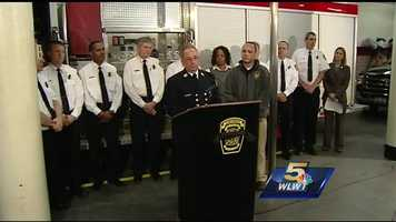 Friday, March 27, 2015: Cincinnati Fire Chief Richard Braun holds a news conference Friday to provide follow up details on Thursday's fatal fire, which claimed the life of FAO firefighter Daryl Gordon.Watch the news conference