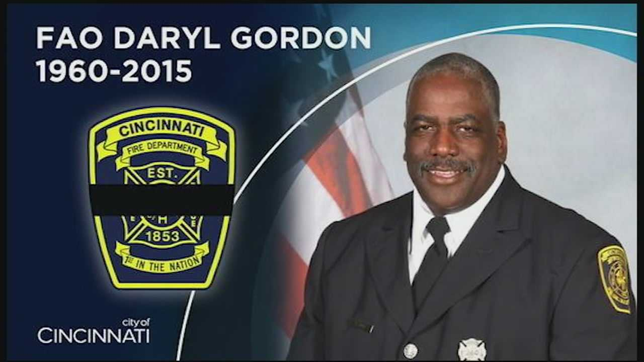 Cincinnati Fire officials said they invited investigators with the National Institute for Occupational Safety and Health to take a look at Gordon's line of duty death.