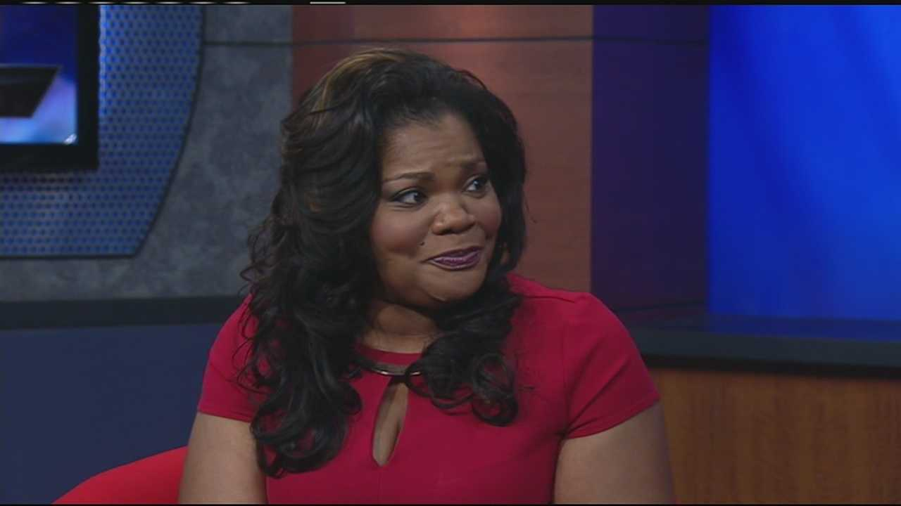 Academy Award winning actress, comedian Mo'Nique visits WLWT (part 2)