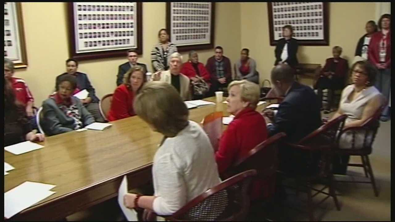 Princeton City School Board member Steve Moore has been to Columbus to battle a budget he said could amount to a fiscal emergency for the school system down the road.