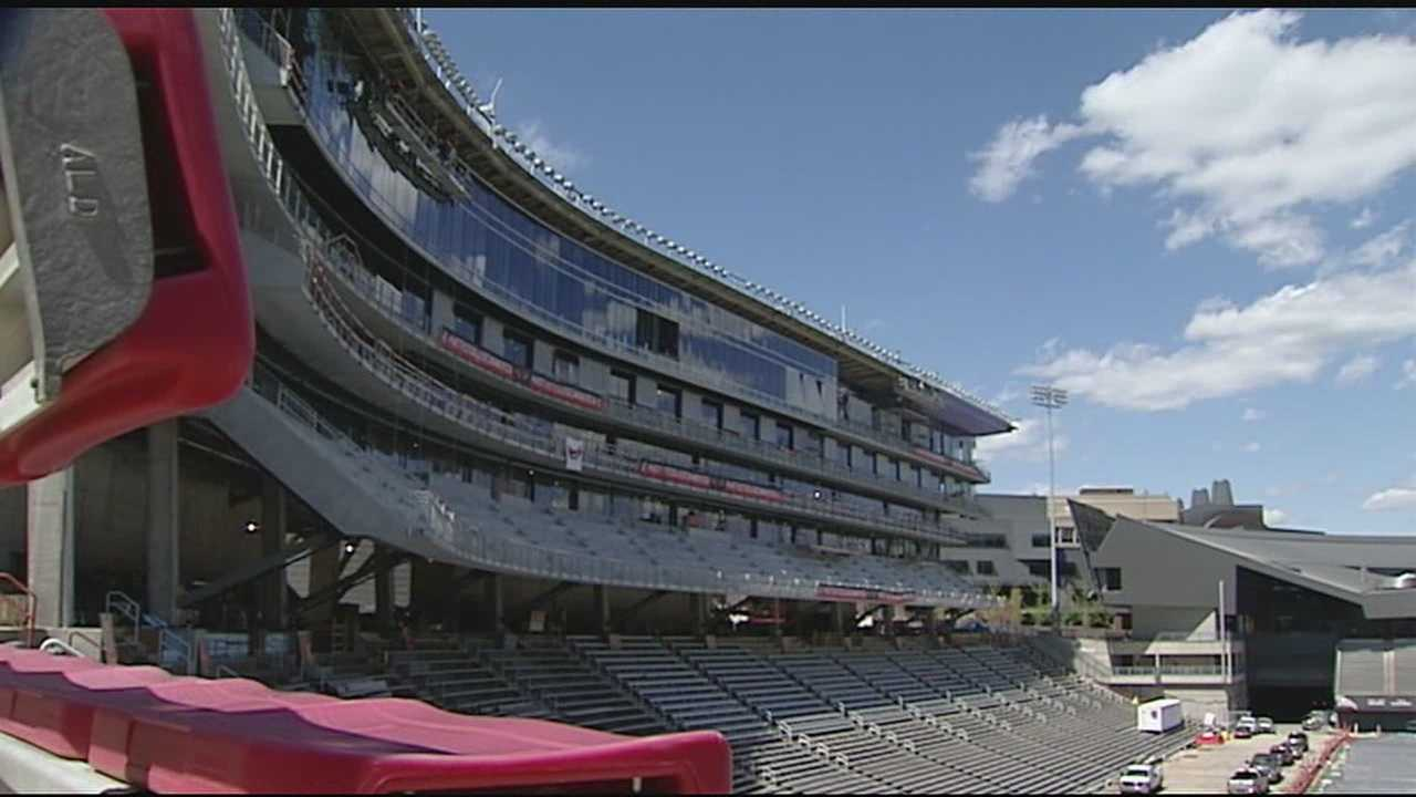 WLWT News 5 gets a tour of Nippert Stadium's renovation