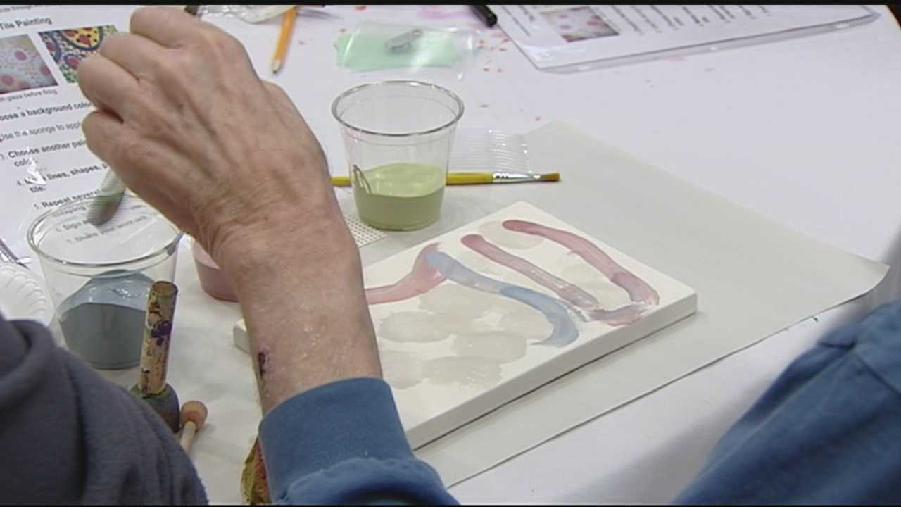 A unique program developed at Miami University is pairing up younger and older generations to create something beautiful.