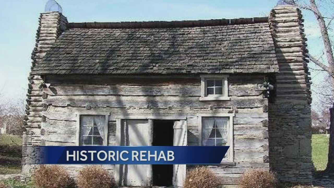 There is a controversy growing in Hamilton as a historic log cabin undergoes a renovation. Time and weather have taken its toll on this community treasure, but as it gets restored some folks are concerned the new look is too modern.