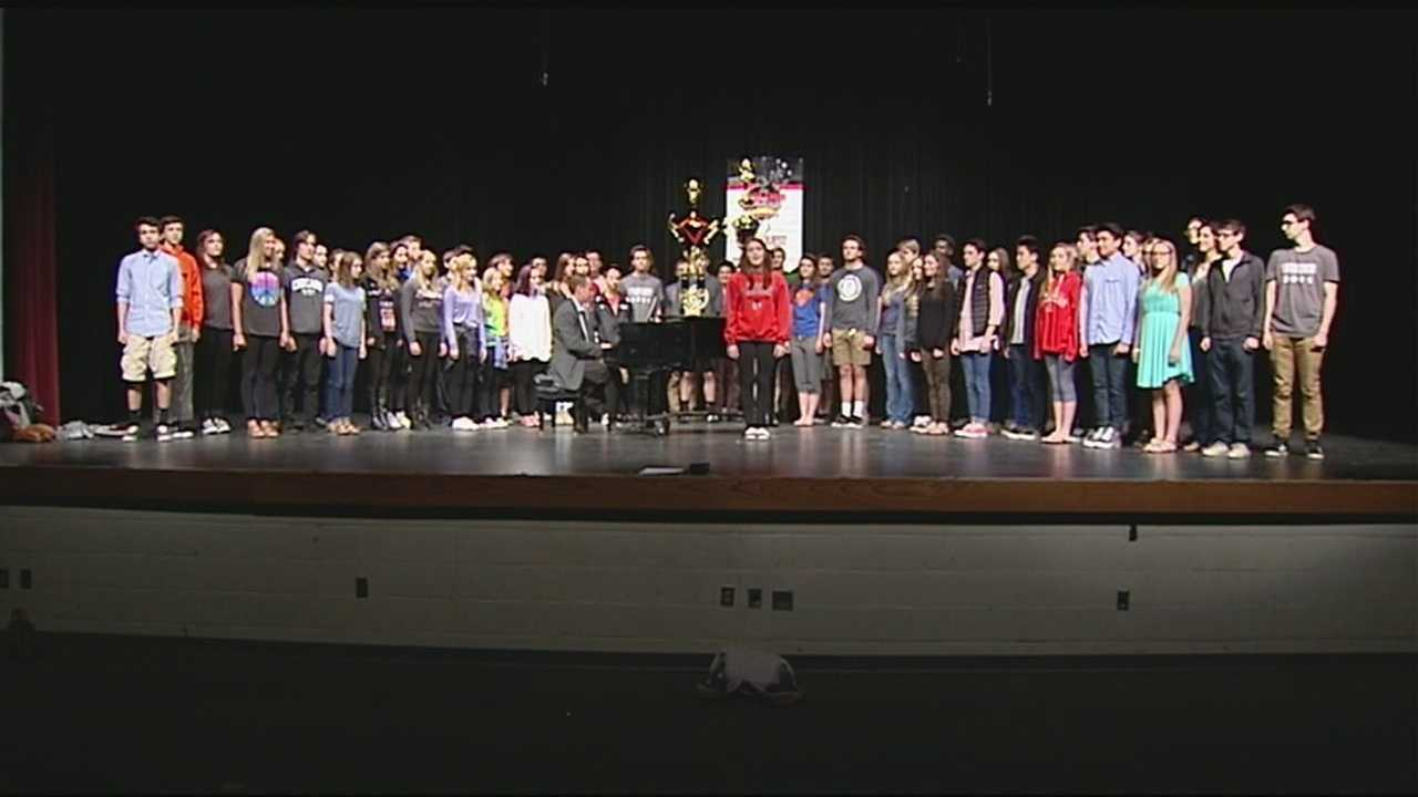 Faculty and staff are singing the praises of the Loveland High School show choir after a big showing at the Fame National Show Choir Competition in Chicago over the weekend.