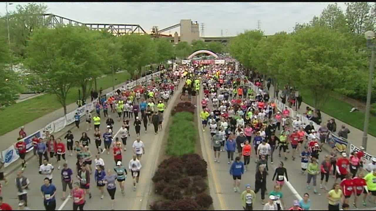 The Flying Pig Marathon is one of the few races left that has both water and gatorade stations available at every mile.