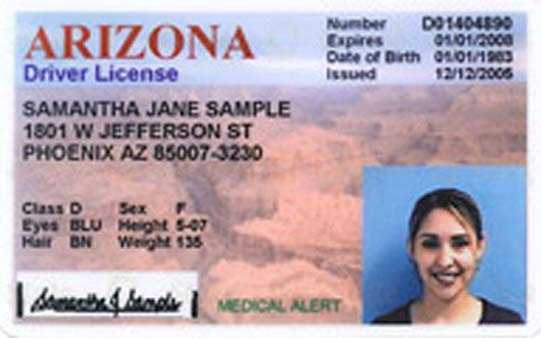 License must be updated every 12 years&#x3B; expires when driver turns 65 years old
