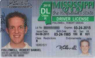 License expires after 4 or 8 years at the discretion of the driver