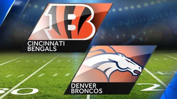 Week 16: Bengals at Denver BroncosDecember 28, 20158:30 p.m.Watch game on: ESPN