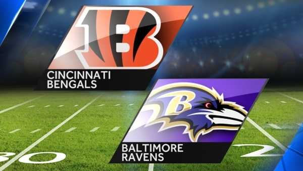Week 3: Bengals at Baltimore RavensSeptember 27, 20151:00 p.m.