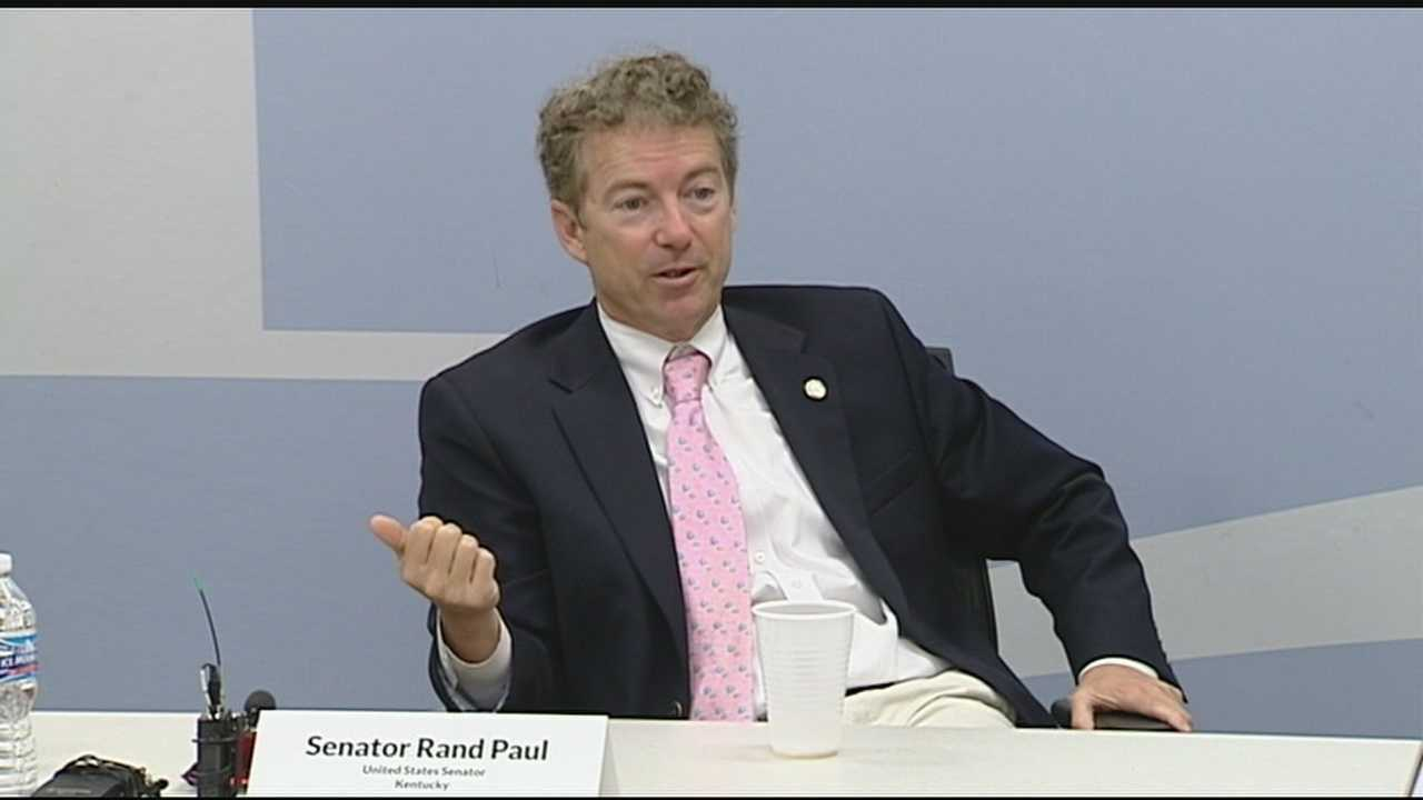 Kentucky Sen. Rand Paul told the media Friday holding officers accountable for deaths like the one in Baltimore should help restore confidence in the system and quell any unrest.
