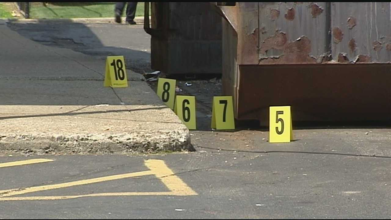 Two separate shootings unfolded not much more than 100 yards and less than hour apart along Linn Street on Wednesday.