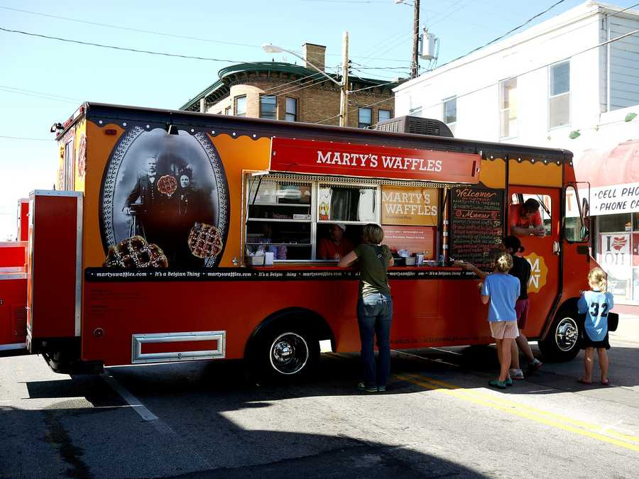 """Loveland Food Truck Rally655 Loveland-Madeira RoadSaturday, May 9 - 2-11 p.m.Food trucks, assemble! Head to the Shopper's Haven parking lot in Loveland for some mobile food, craft beer, live music and lots of fun for kids including inflatables (yah, I said for """"kids"""", but my adult self is pretty excited about the inflatables, too).Click here for more info"""