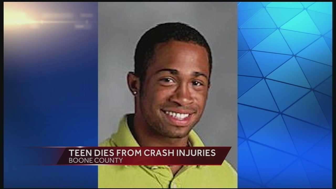 Three teens were injured in a crash that left them two of them with serious injuries. One of the teens died Thursday.