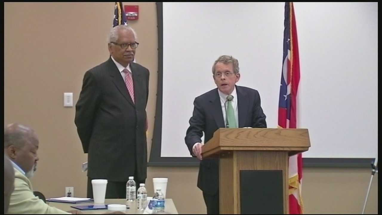 Ohio Attorney General Mike DeWine says police departments need to increase education and training before hiring officers.