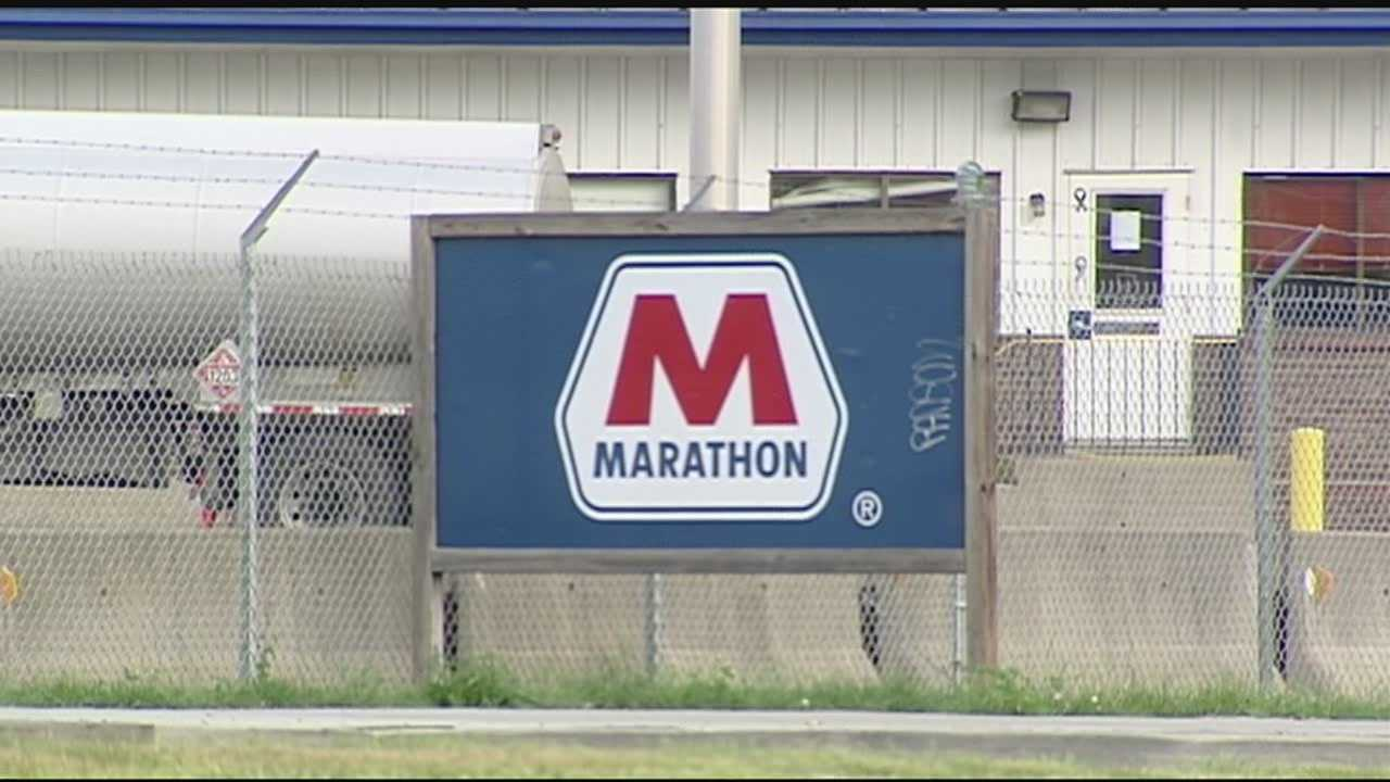 The suit alleges that Marathon engages in anti-competitive practices that lead to higher gas prices for consumers across Kentucky, Jack Conway said.