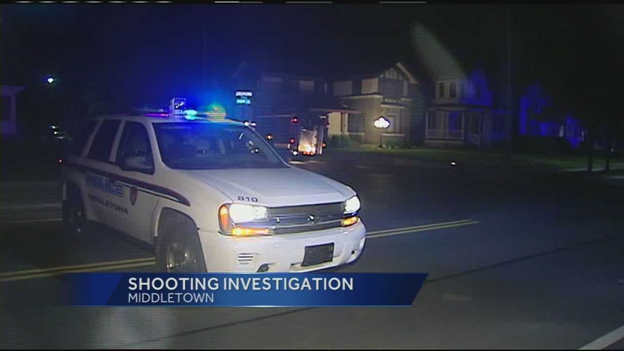 A man was shot in the head early Thursday in Middletown.