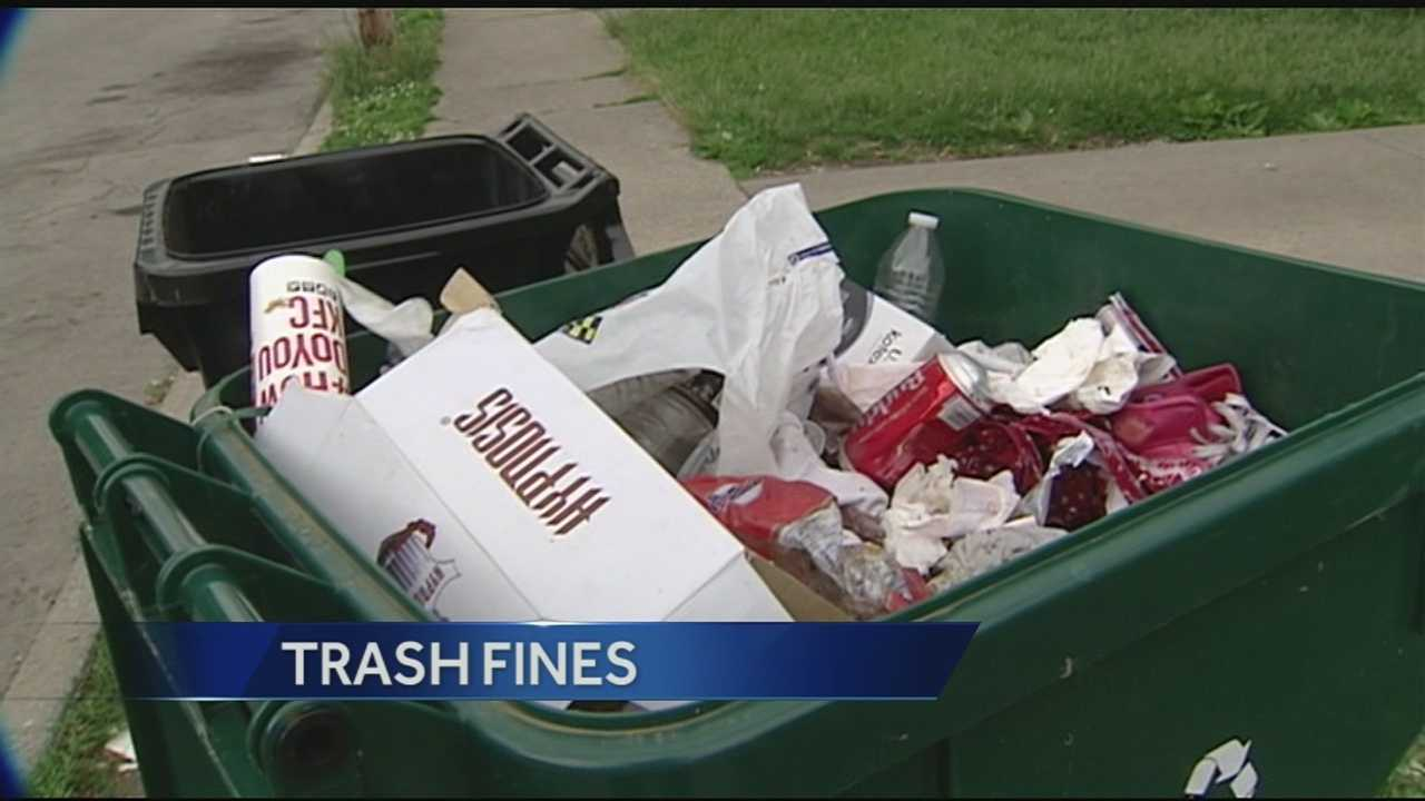 It appears that there's a sharp learning curve ahead when it comes to the city of Cincinnati's new rules about trash collection. Ride along many residential side streets, and you'll find potential violations piling up like trash after a family reunion picnic.