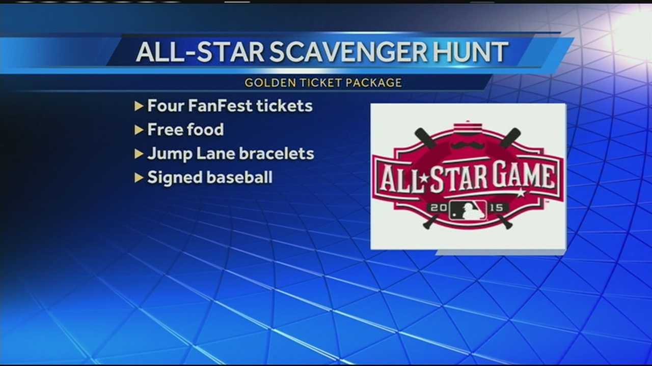 The All-Star game will be in Cincinnati in less than two months, so the Reds are creating excitement and getting some fans in on the fun. Major League Baseball is hosting a scavenger hunt in Cincinnati to give baseball fans an opportunity to have a good time and win some prizes. The biggest prize will be a prize package to the All-Star Fan Fest.