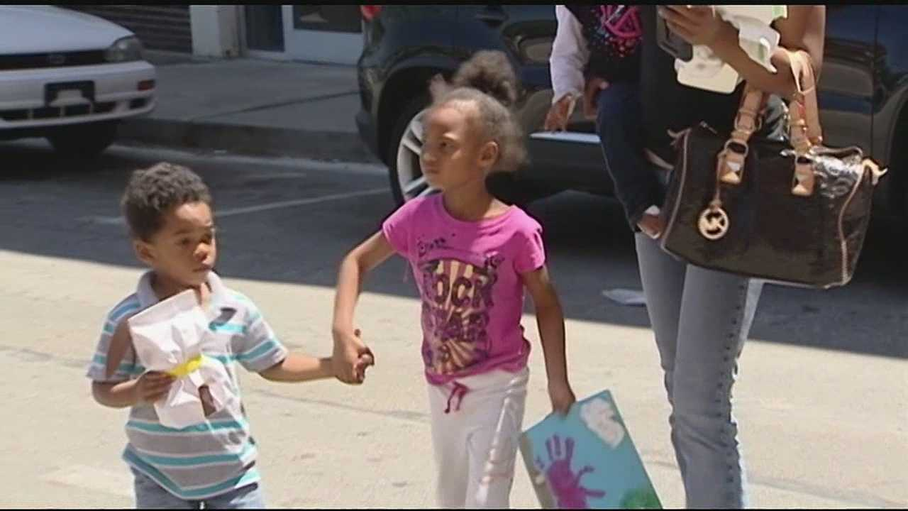 A Northern Kentucky mother says childcare workers left her daughter alone for hours in an empty van.