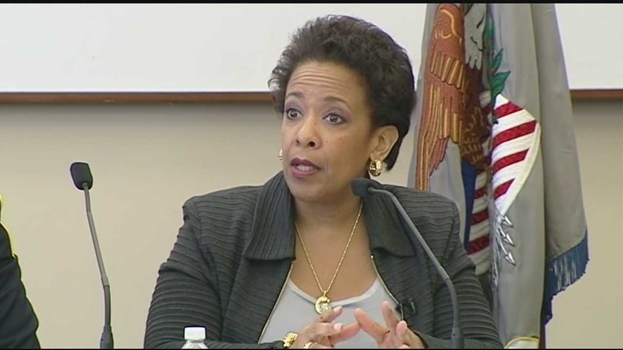 The nation's 83rd Attorney General liked what she saw and experienced in Cincinnati Tuesday, saying what works here for police-community relations can work elsewhere. Loretta Lynch said she plans to take that message to five other cities on her National Community Policing Tour.
