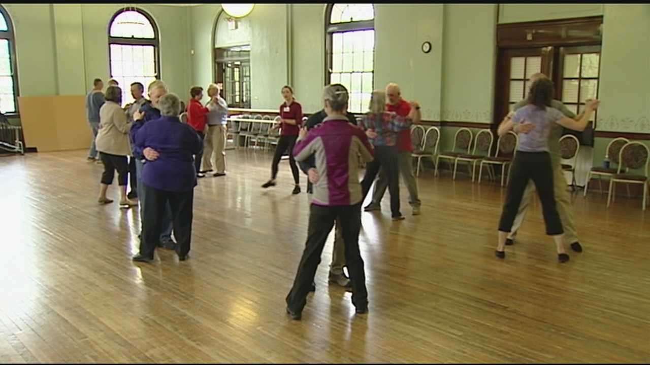 Every Wednesday, about 20 or 30 dancers come together with family, friends and those fighting the disease.
