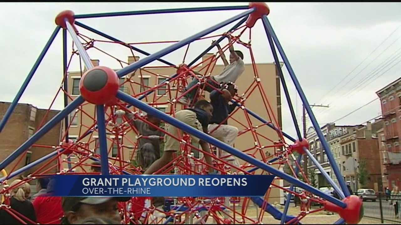 Renovations were made to the OTR park in hopes of lowering crime.
