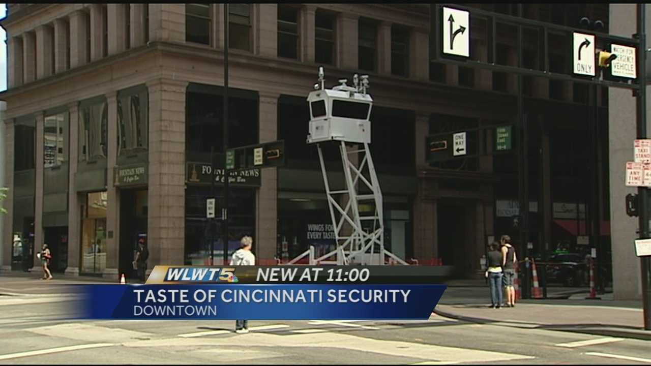 Downtown visitors will see more officers at this year's Taste of Cincinnati, and some less traditional tactics this year.