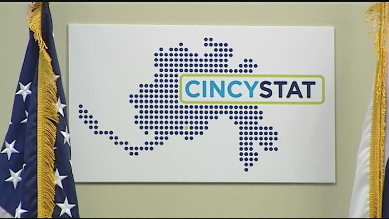 City Manager Harry Black and other city leaders cut the ribbon Wednesday on the new Office of Performance & Data Analytics and its Innovation Lab and a review process known as CincyStat.