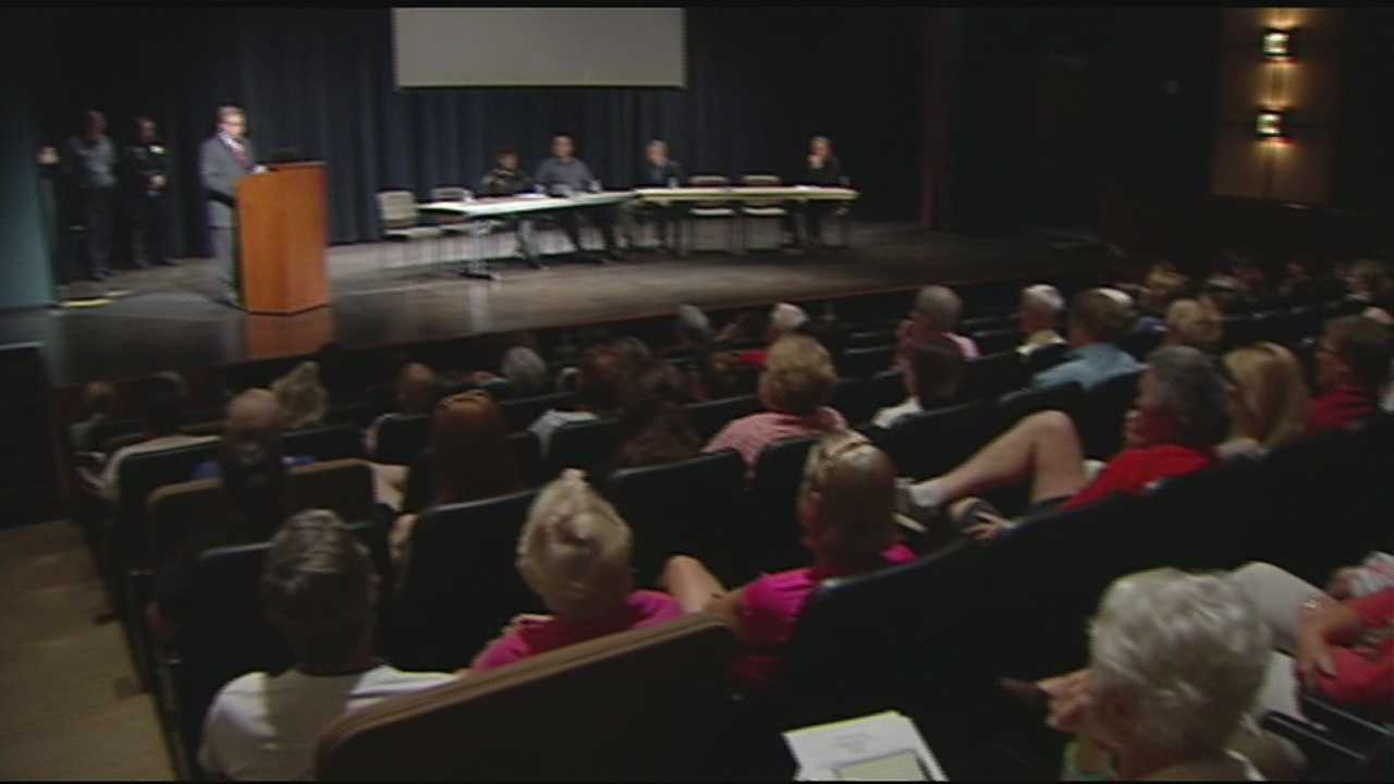 The Hamilton County Sheriff's Department hosted the first of two regional heroin forums on Wednesday night before a crowd of more than 100 at the Anderson Center off Five Mile Road.
