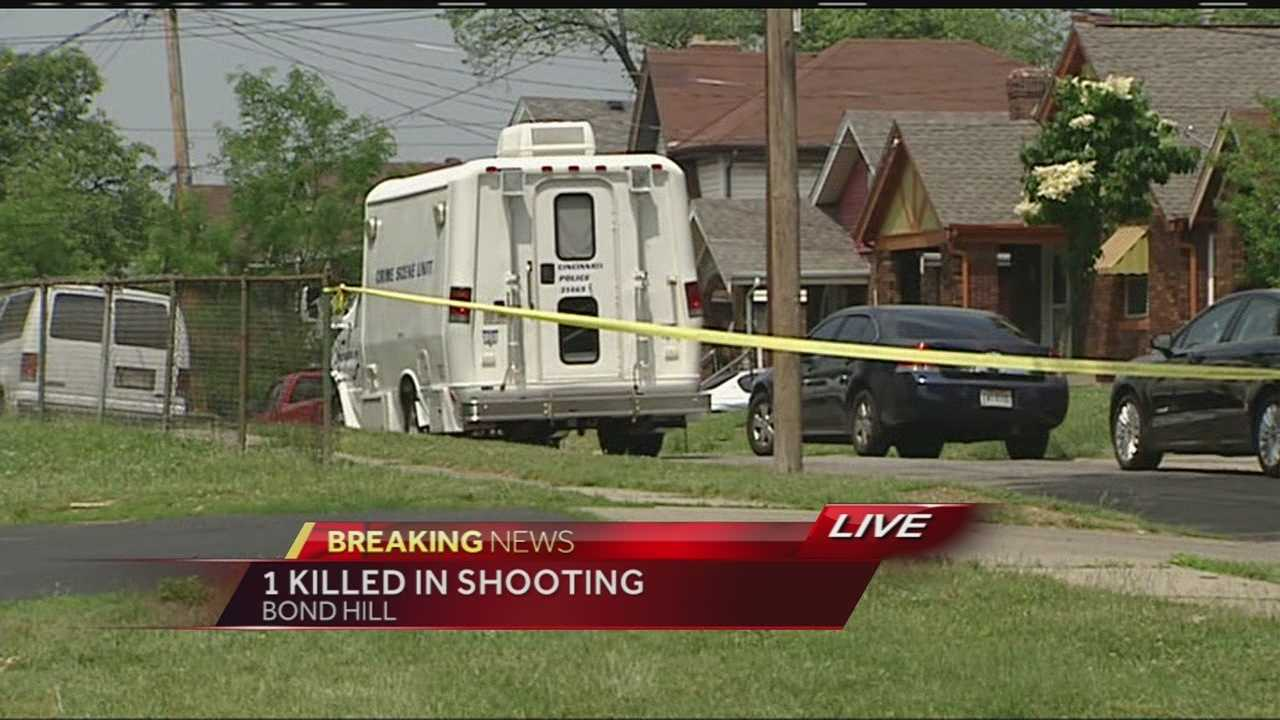 A man is dead after a Thursday morning shooting in Bond Hill