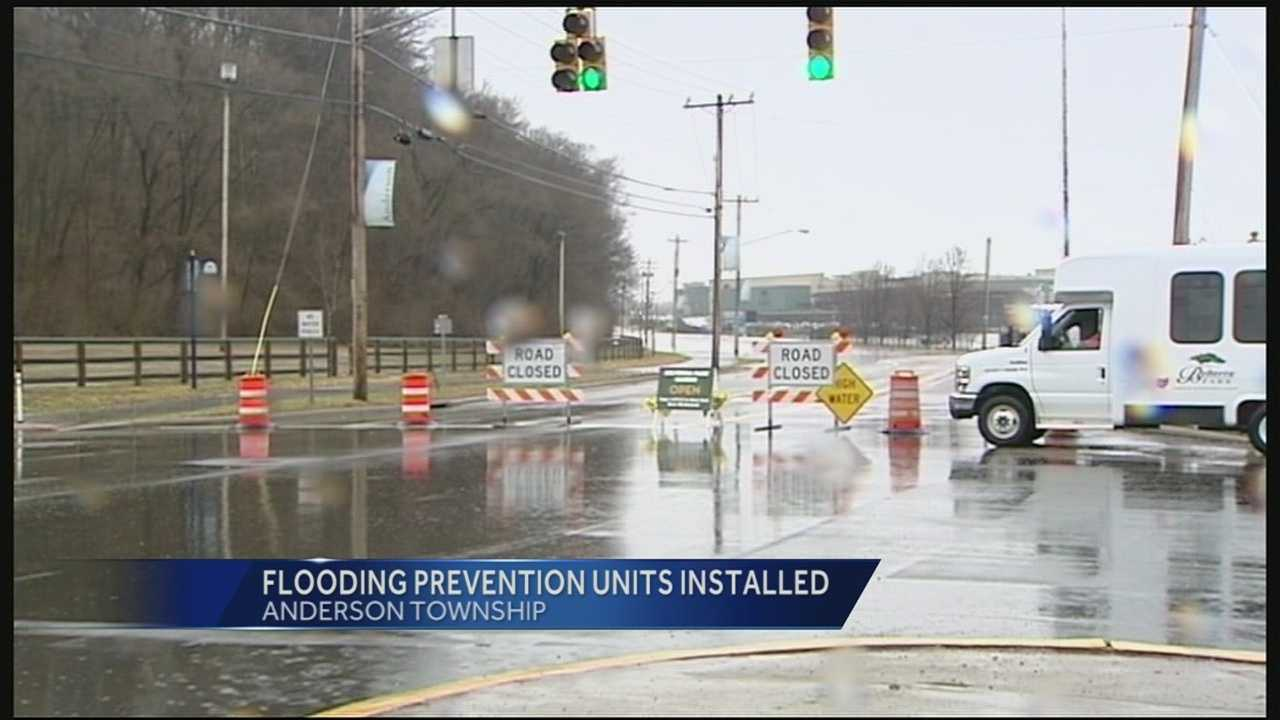 Flooding tends to be a problem in certain areas, almost every year. One of those spots in Anderson Township is around Belterra Park, Riverbend and Coney Island, but the threat of floods might not be as severe for much longer.