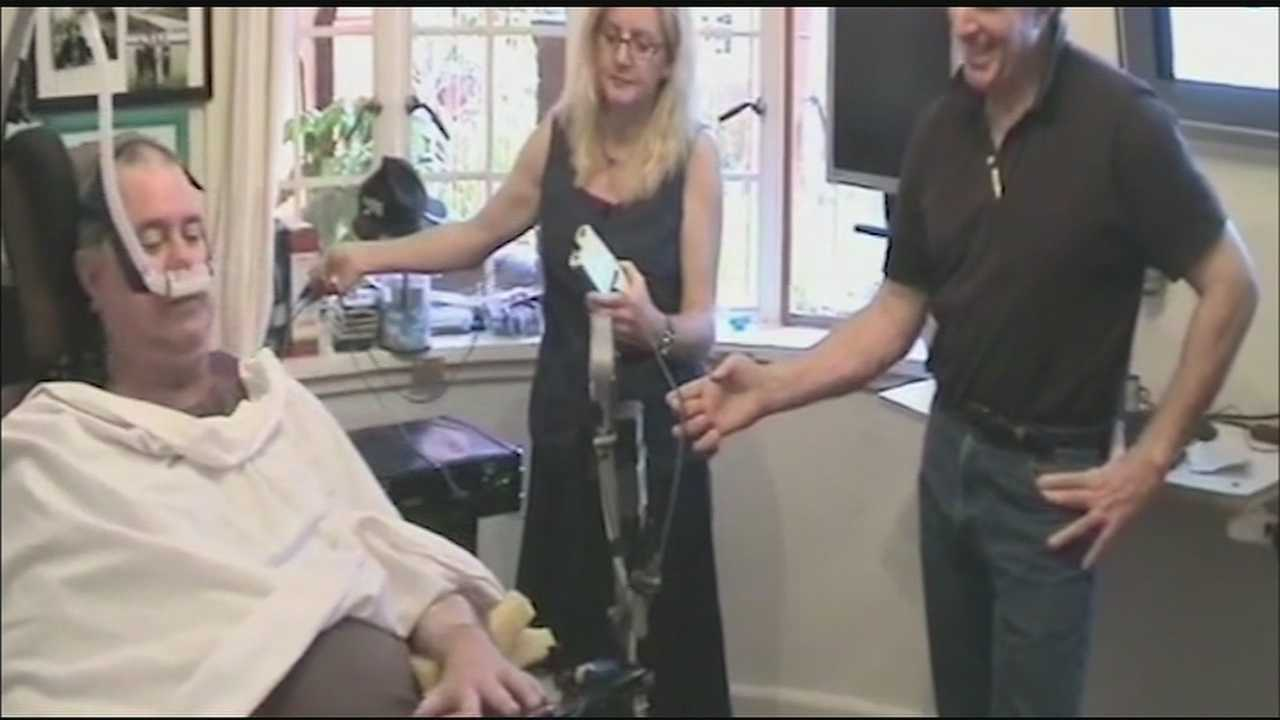 New technology that uses electrical impulses from the brain to is helping some veterans regain the ability to communicate. The technology, previously used in controlling things from computers to wheelchairs, is being used in a device to help veterans with disorders that take away movement and speech.