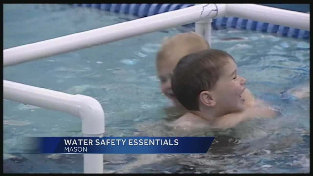 Swimming instructors said even before children can walk or crawl, they can still learn important safety skills.