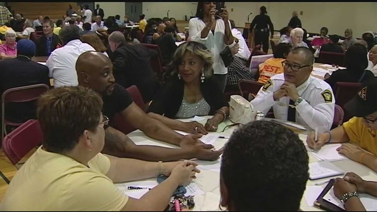 Community participates in listening session to curb violence
