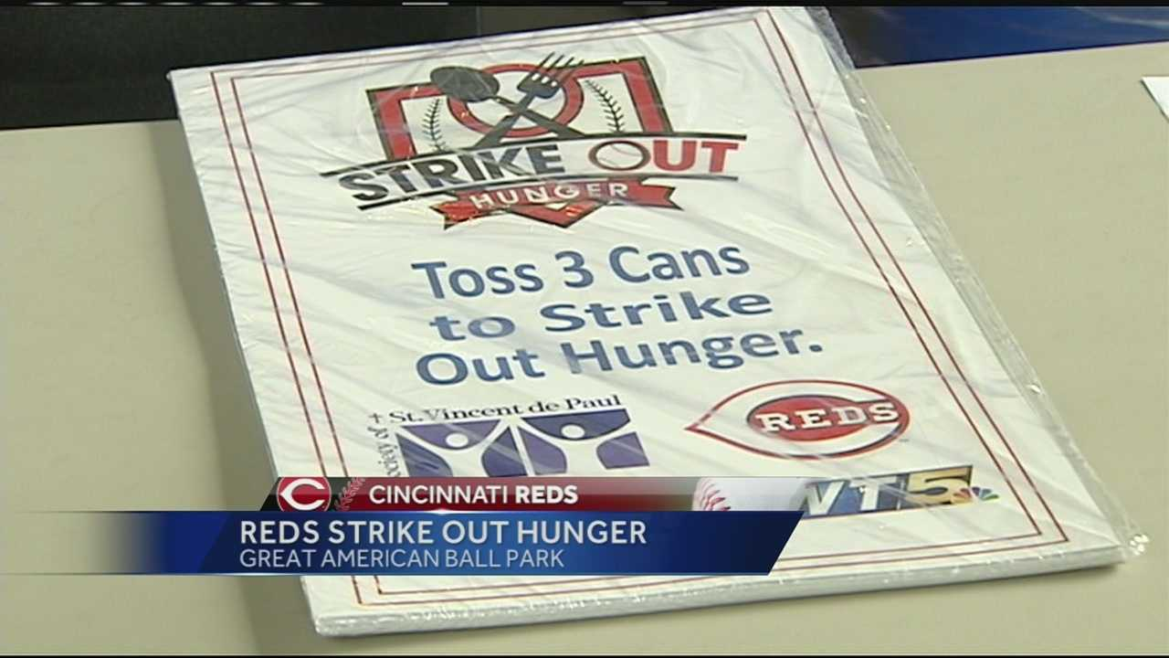 Last year, they were able to feed 23,000 families in need in the Cincinnati area. This year's goal is to collect enough food for 25,000 people.