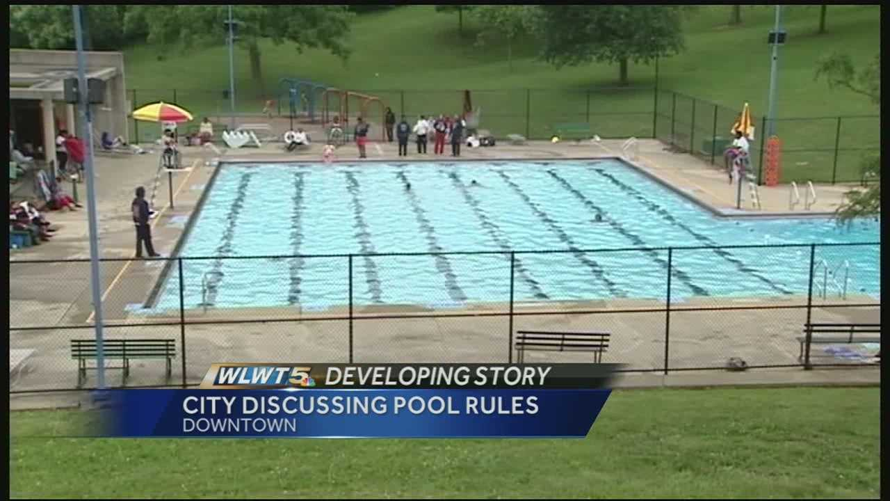 Cincinnati City Council will look into whether the ages of children that need to be supervised at the pool should be changed.