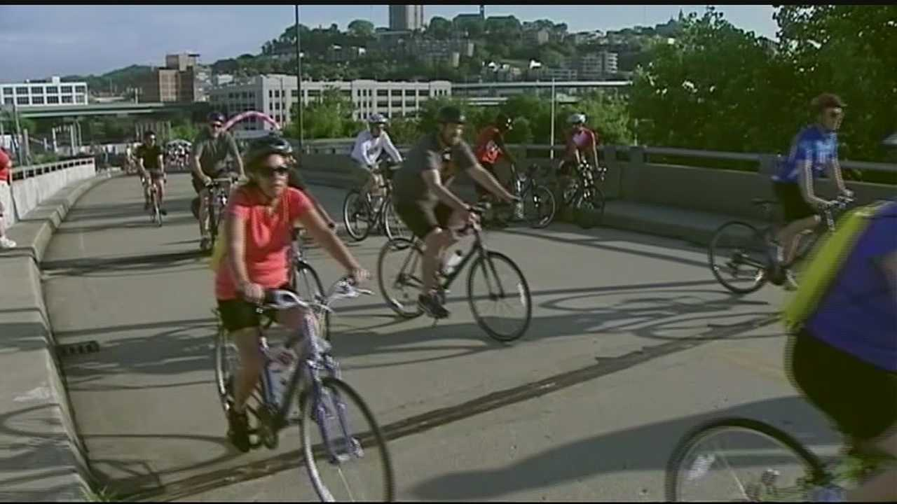 Thousands of bike riders will take over the streets of Cincinnati this weekend for a good cause. The annual Ride Cincinnati event raises money for breast cancer research.