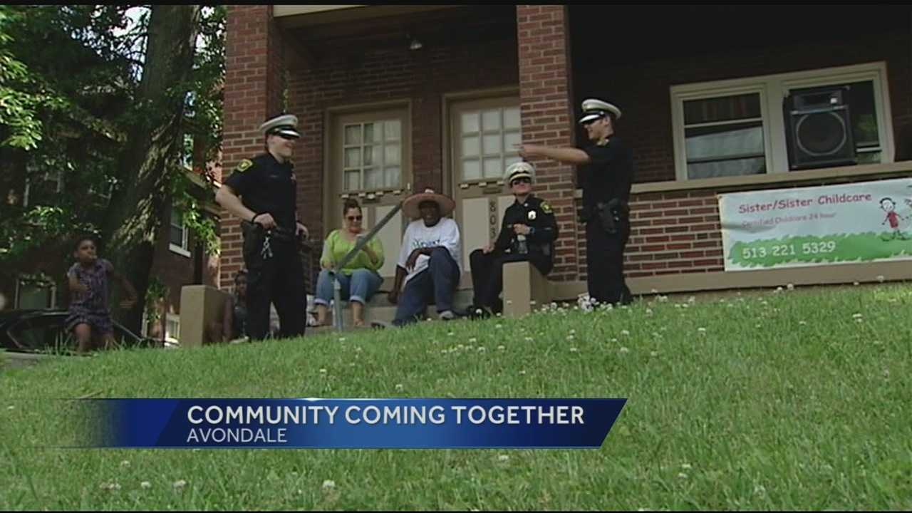 District Four Capt. Maris Harold said building partnerships with community groups like Cincinnati Works is crucial in fighting crime and violence.