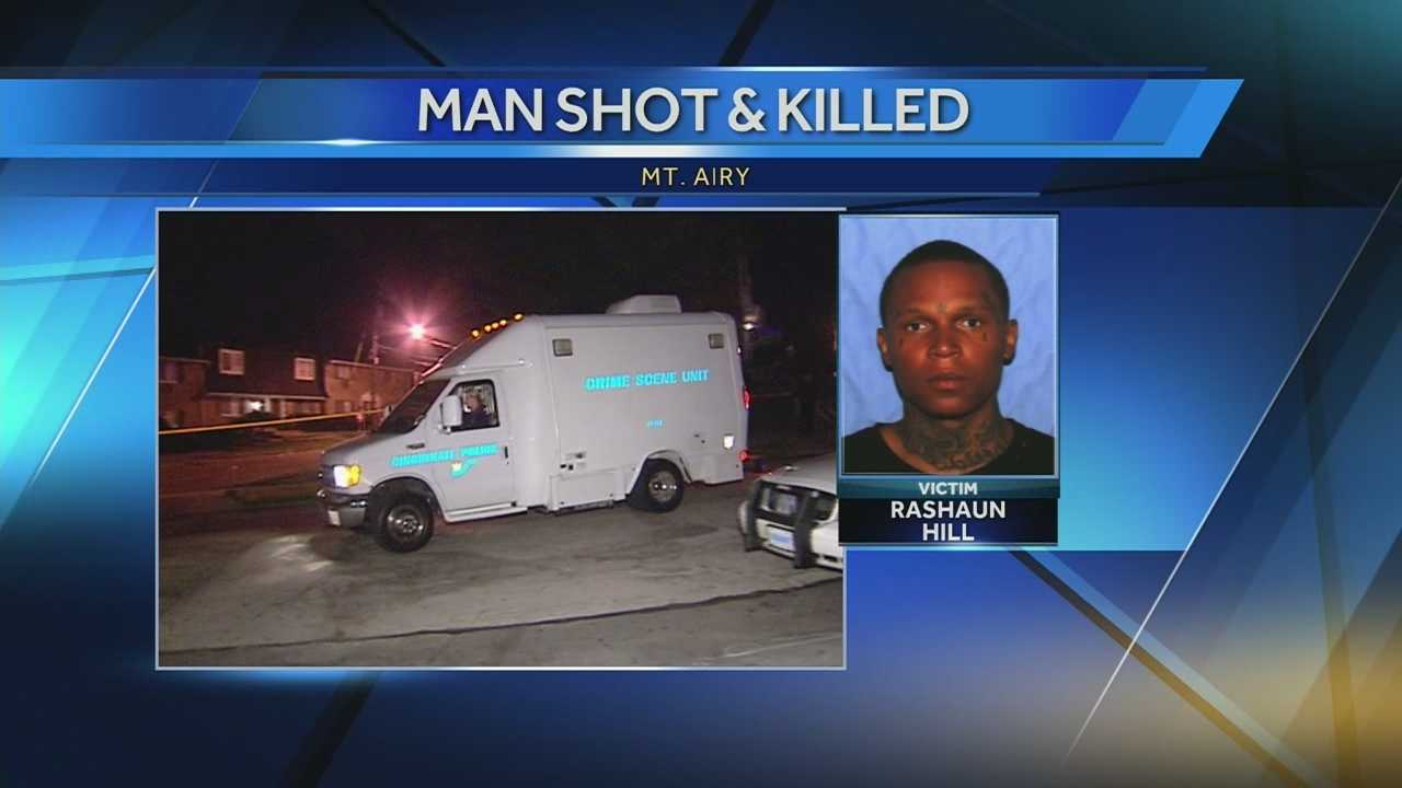 A man was found dead after a shooting in Mt. Airy late Sunday.