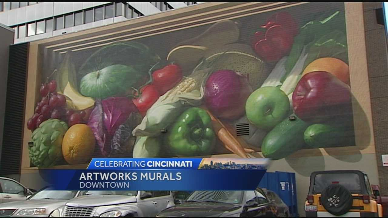 New and improved art murals are popping up all over downtown as well as neighborhoods in the Cincinnati area.
