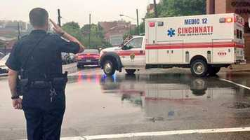 Kim and the suspect are pronounced dead at the hospital before 11:30 a.m.