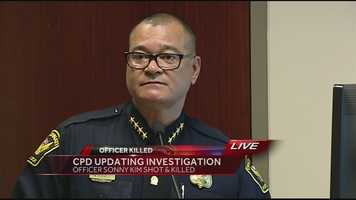 Blackwell holds a second news conference to release further details about Kim's shooting death. He says the suspect called 911 on himself twice.Watch the press conference