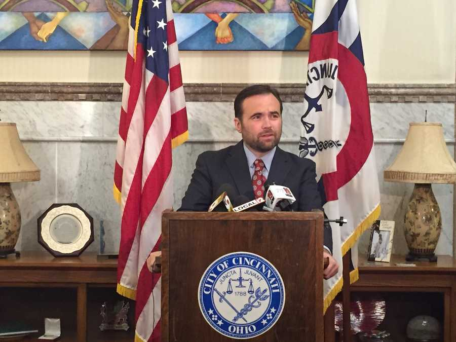"""Mayor John Cranley returns from a conference in San Francisco to speak about Kim's death. He says he learned of the shooting while on his flight to the West Coast. """"It was an unspeakable tragedy and loss,"""" Cranley said. """"He understood the dangers and put himself in harm's way. We want the Kim family to know we are thinking of them in the days and weeks to come.""""Read this story"""