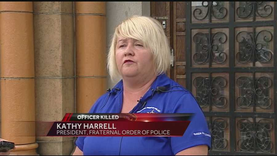 Cincinnati Fraternal Order of Police President Kathy Harrell says Kim told other officers a few weeks ago that with the violence in Cincinnati, it was likely officers could be killed in the line of duty.Read this story