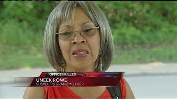 Trepierre Hummons' paternal grandmother, Uneek Rowe, said she has been praying since she received word that her grandson shot and killed Officer Sonny Kim. She apologized to the Kim family in a news conference Monday. Click here for full story