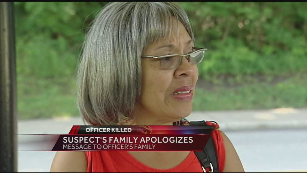 The grandmother of Trepierre Hummons speaks out to the community about Officer Kim's death and issues a heartfelt apology to his family.