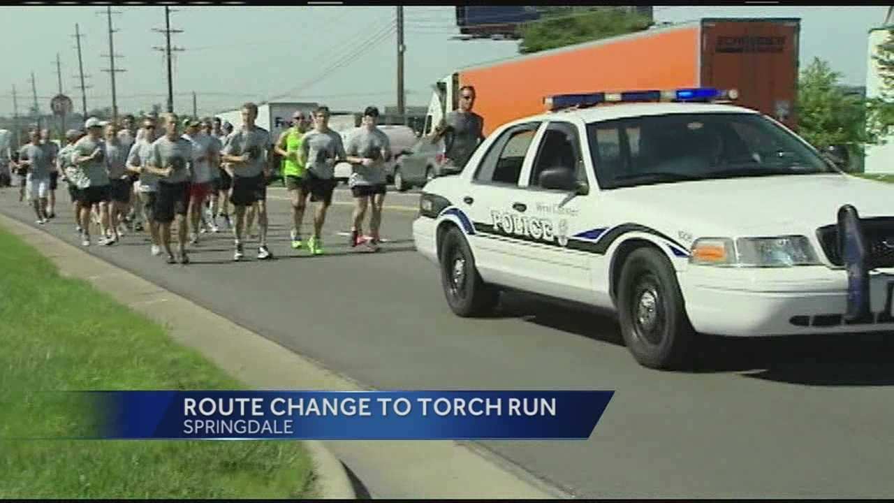 The run for Special Olympics that runs through Cincinnati each year is being moved out of respect for Officer Sonny Kim.