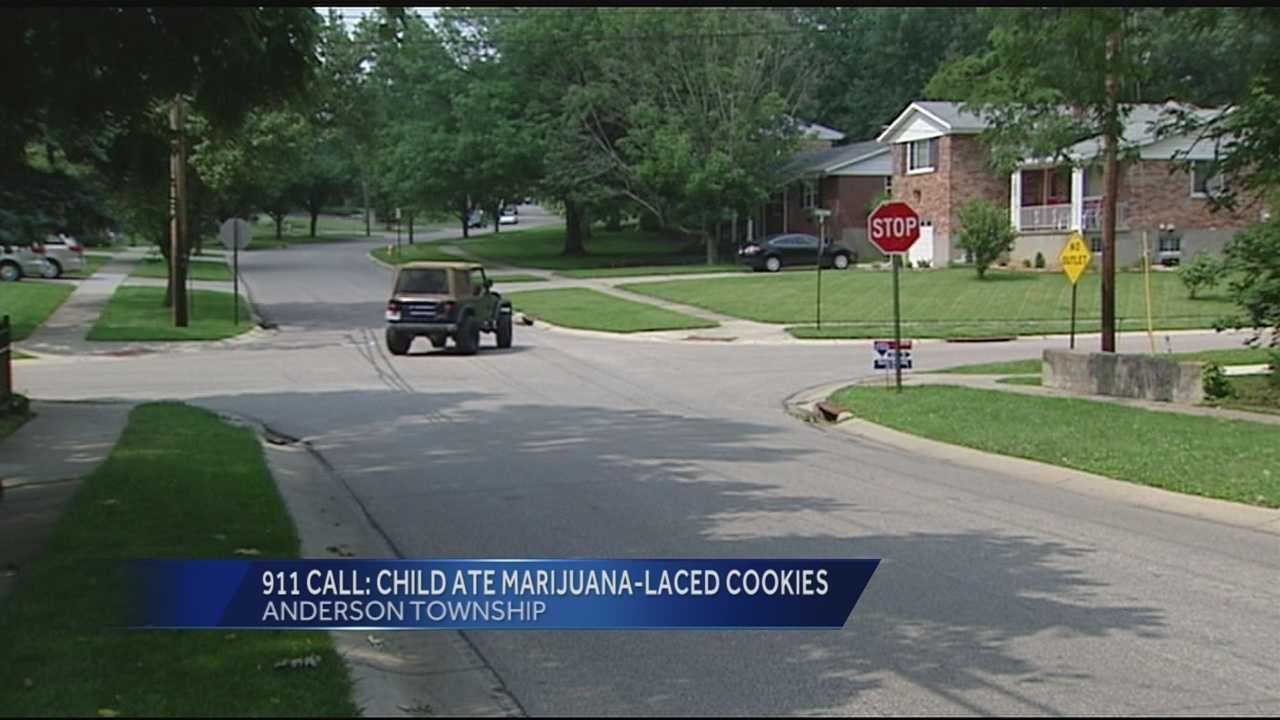 Detectives said the grandparents were not home and the family found cookies in the fridge and ate one each.