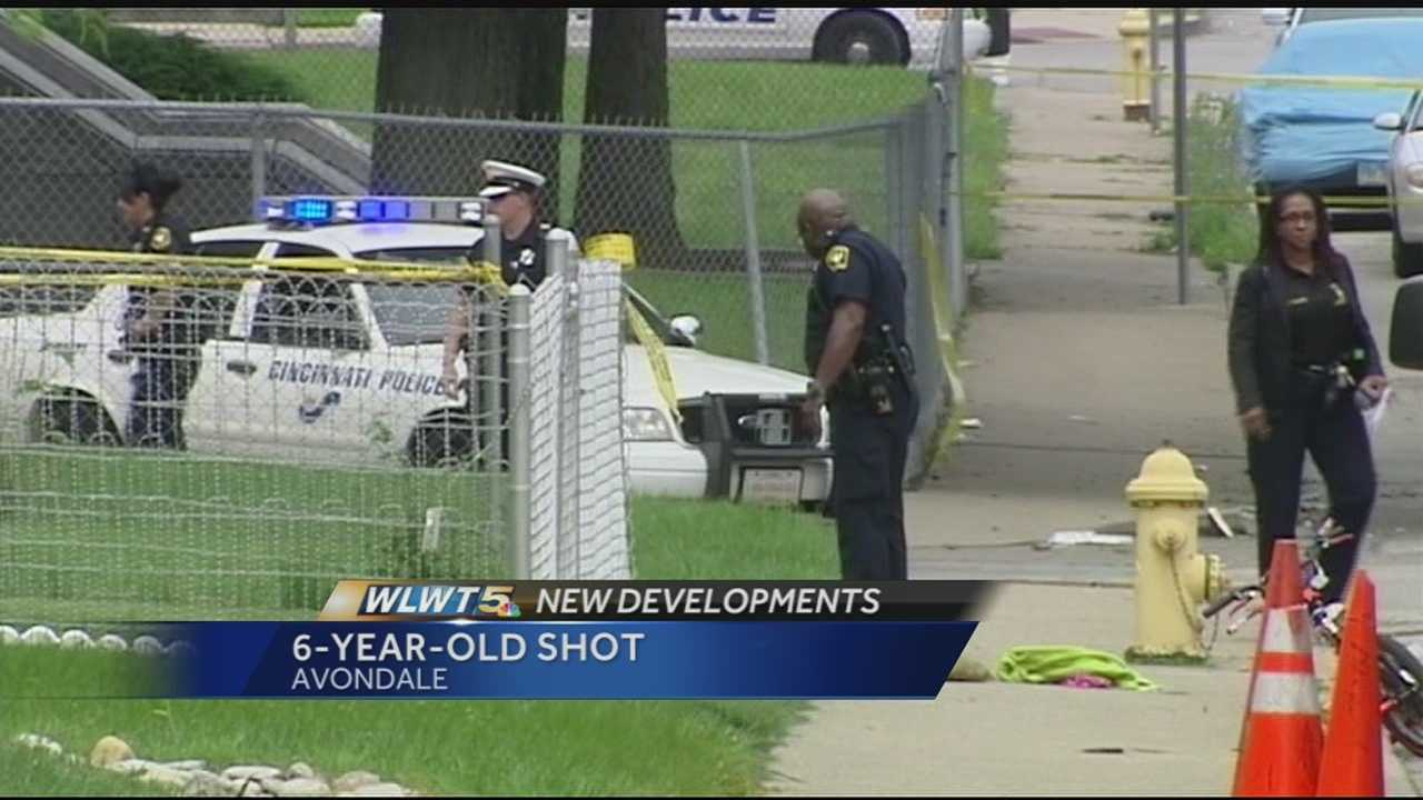 The hunt continues for a shooter who critically injured 6-year-old China Kinebrew Sunday afternoon in a shooting police said was targeted at her stepfather.